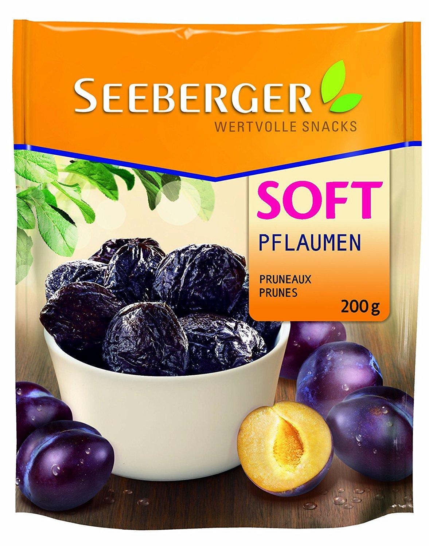 [Amazon - Prime] Seeberger Soft-Pflaumen entsteint, 13er Pack (13 x 200 g Beutel) 12,17 €