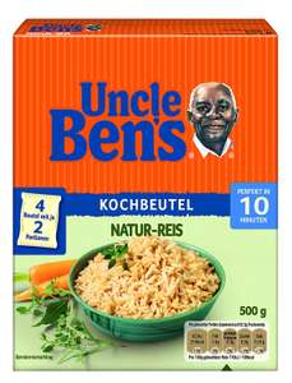 2kg Uncle Ben's Reis (Kochbeutel) + 6x Expressreis Mediterran für 4,16€ (statt 18€) [Amazon Prime]