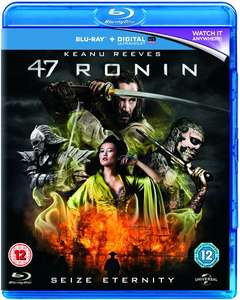 47 Ronin (Blu-ray + Digitale Kopie) für 3,50€ (Zoom.co.uk)