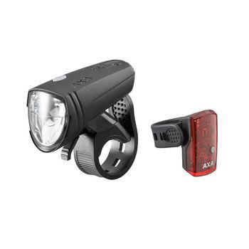 BOC Lichtwoche - AXA Greenline 15 LED Fahrradlicht-Set zum Tiefstpreis