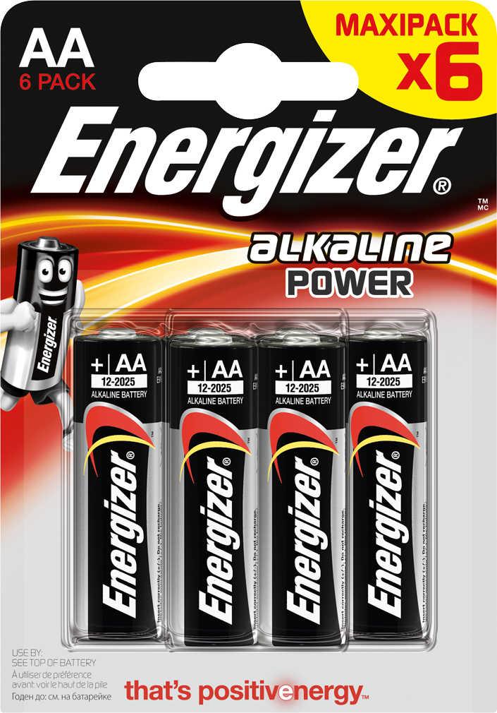 ENERGIZER Batterien - Alkaline Power 6er Pack [Kaufland]