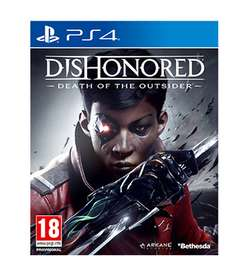 Dishonored 2: Der Tod des Outsiders (Standalone-Erweiterung) (PS4 & Xbox One) für je 14,58€ (Game UK)
