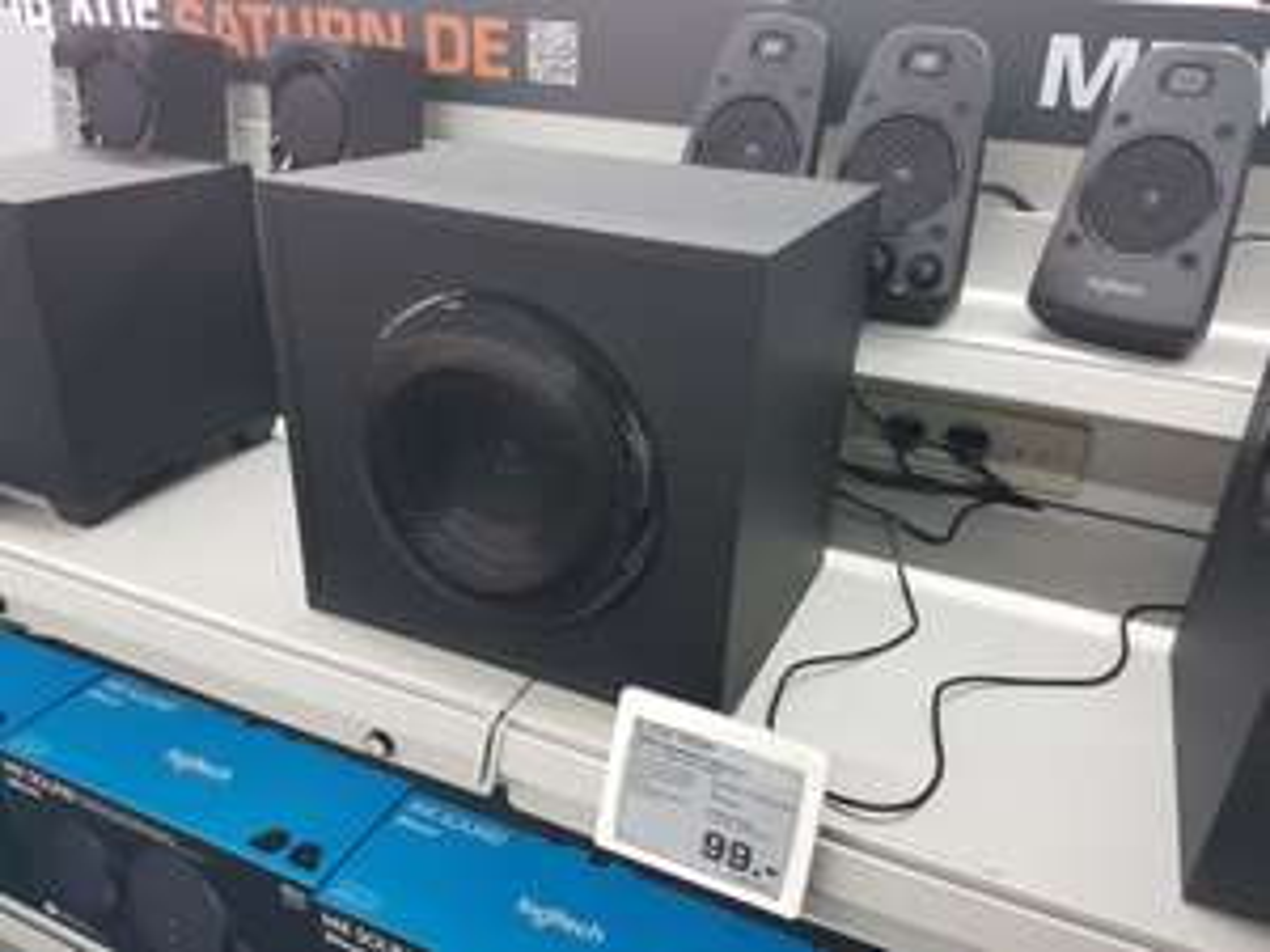 Lokal [Saturn Reinickendorf/Der Clou] Logitech Z623 THX-zertifiziertes 2.1 PC Lautsprecher System