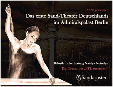 Sandartisten-Theater im Admiralspalast Berlin um fast 75 % reduziert!