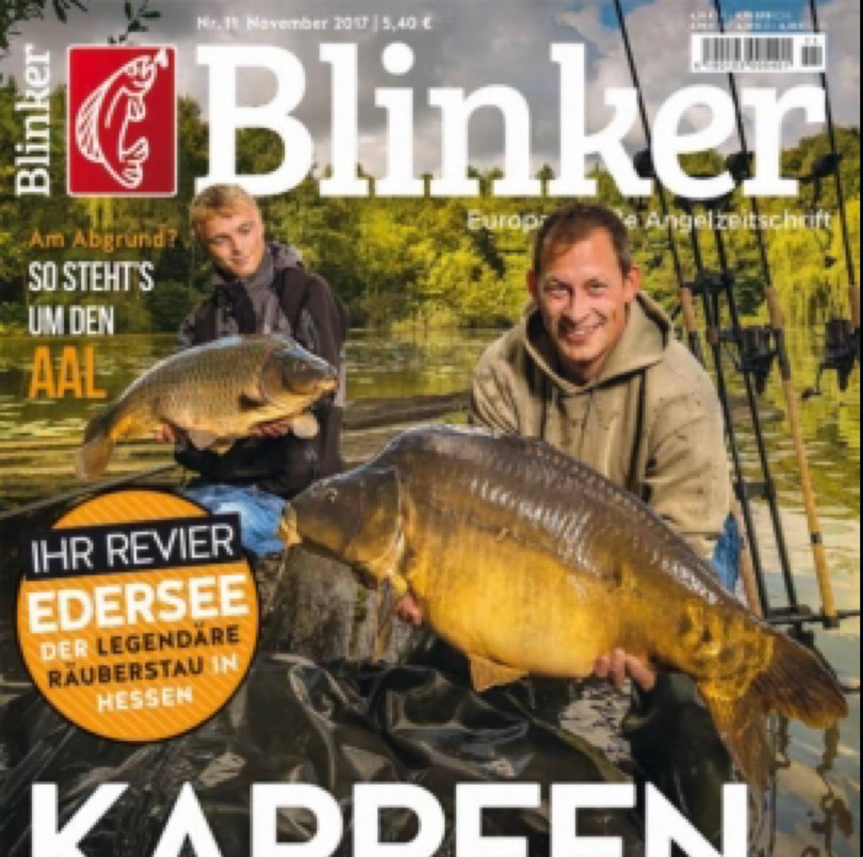 Jahres Abo Angler Zeitschrift Blinker