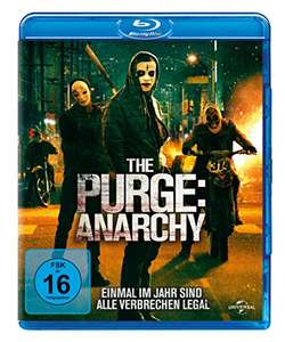 The Purge - Anarchy (Blu-ray) für 4,14€ (Amazon Prime + Dodax)