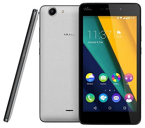 Wiko Pulp Fab 4G LTE Smartphone 5,5 Zoll HD IPS-Display, 4x1,2 GHz, 16GB, 2GB RAM nur in weiß