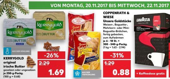 Kerrygold Butter für 1,69€ bei Kaufland