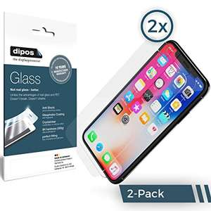 2x iPhone X Dipos Displayschutzfolie gratis [Amazon]