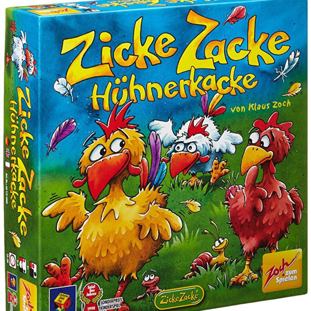 [Amazon.de] Zicke zacke Hühnerkacke Kinderspiel