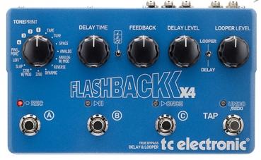 Gitarrenpedal TC Electronic Flashback X4 für 214 € / Delay Effektpedal