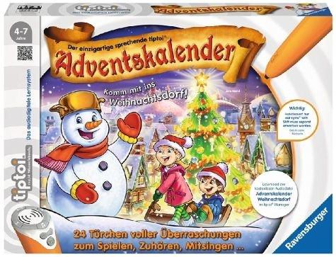 [Amazon Prime only] Ravensburger 00778 - tiptoi Adventskalender - das Weihnachtsdorf