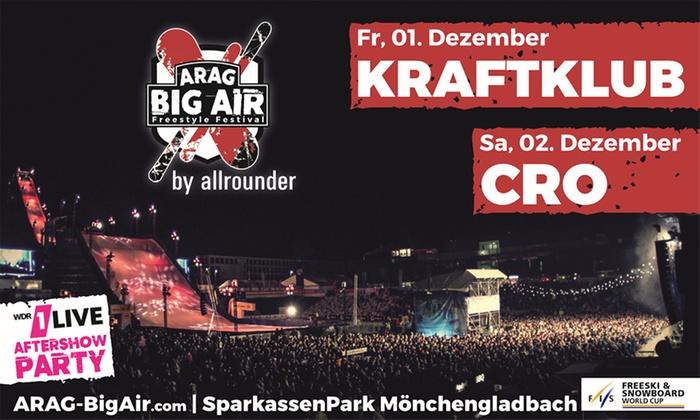 2 Tickets für das Big Air Festival im Sparkassenpark - 50% + 30% sparen