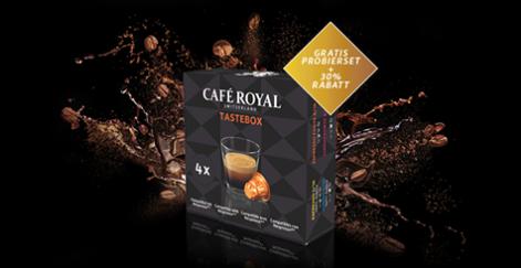 [Facebook] Gratis Café Royal Probierpaket: 4 Nespresso kompatible Kapseln