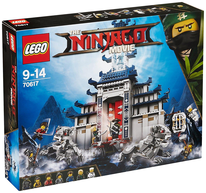 [Amazon Italien] LEGO Ninjago 70617 - Ultimatives Tempel-Versteck für 55,26