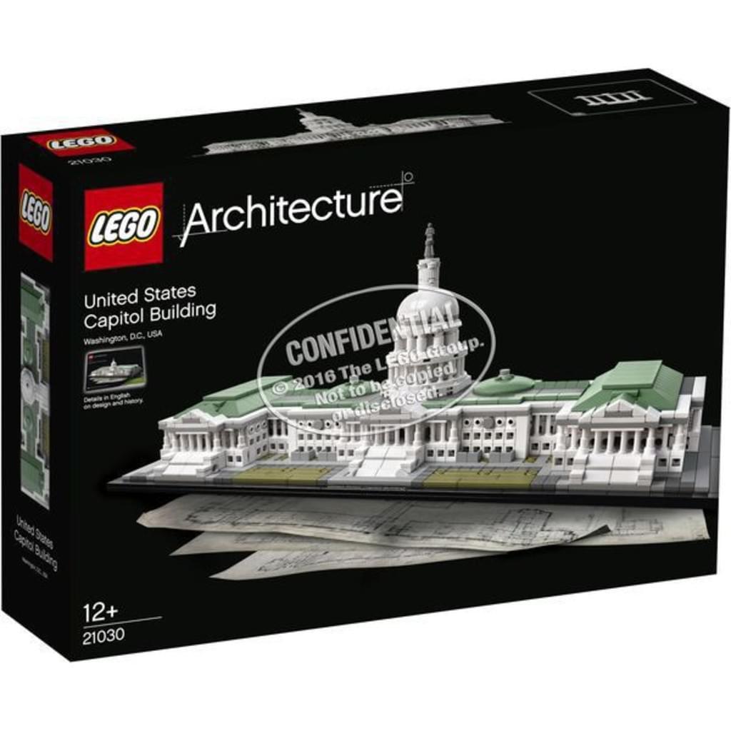 [real.de] Lego Architecture Capitol 21030 (Kapitol) (oder Buckingham Palast + Eiffelturm)