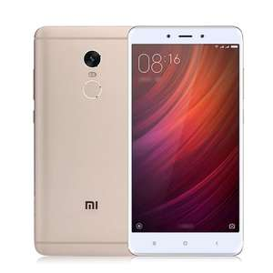 Xiaomi Redmi Note 4 4/64GB gold Global für 128,83 € [Gearbest]