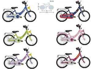 PUKY Fahrrad Kinderfahrrad ZL 16 ALU Körpergr. ab 105 cm Lillifee Sharky ..