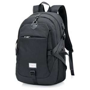 [Gear Best] Segeltuch-Rucksack mit USB Charge Cable inkl. Versand