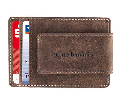Bruno Banani Leder-Kreditkartenetui Money Clip