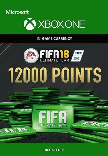 12000 Ultimate Team Punkte für Fifa 18 für PS4 (73,50 €) oder XBOX ONE (68,59 €) @nokeys.com