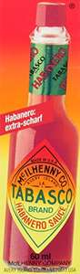 [amazon Plus-Produkt] 4x Tabasco Habanero (4x 60ml) Chili-Sauce