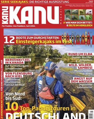 Kanu Magazin Abo - 6 Ausgaben für 14,95€