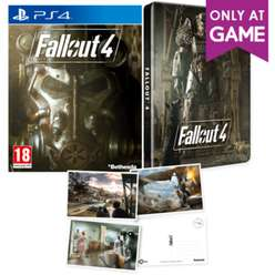 Fallout 4 Steelbook & Postcards (PS4 / Xbox One) für  ~14,61 € aus UK
