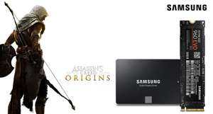 "Assassin's Creed Origins (PC) gratis zu Samsung 850 EVO (2.5"") & 960 EVO in 500GB & 1TB"