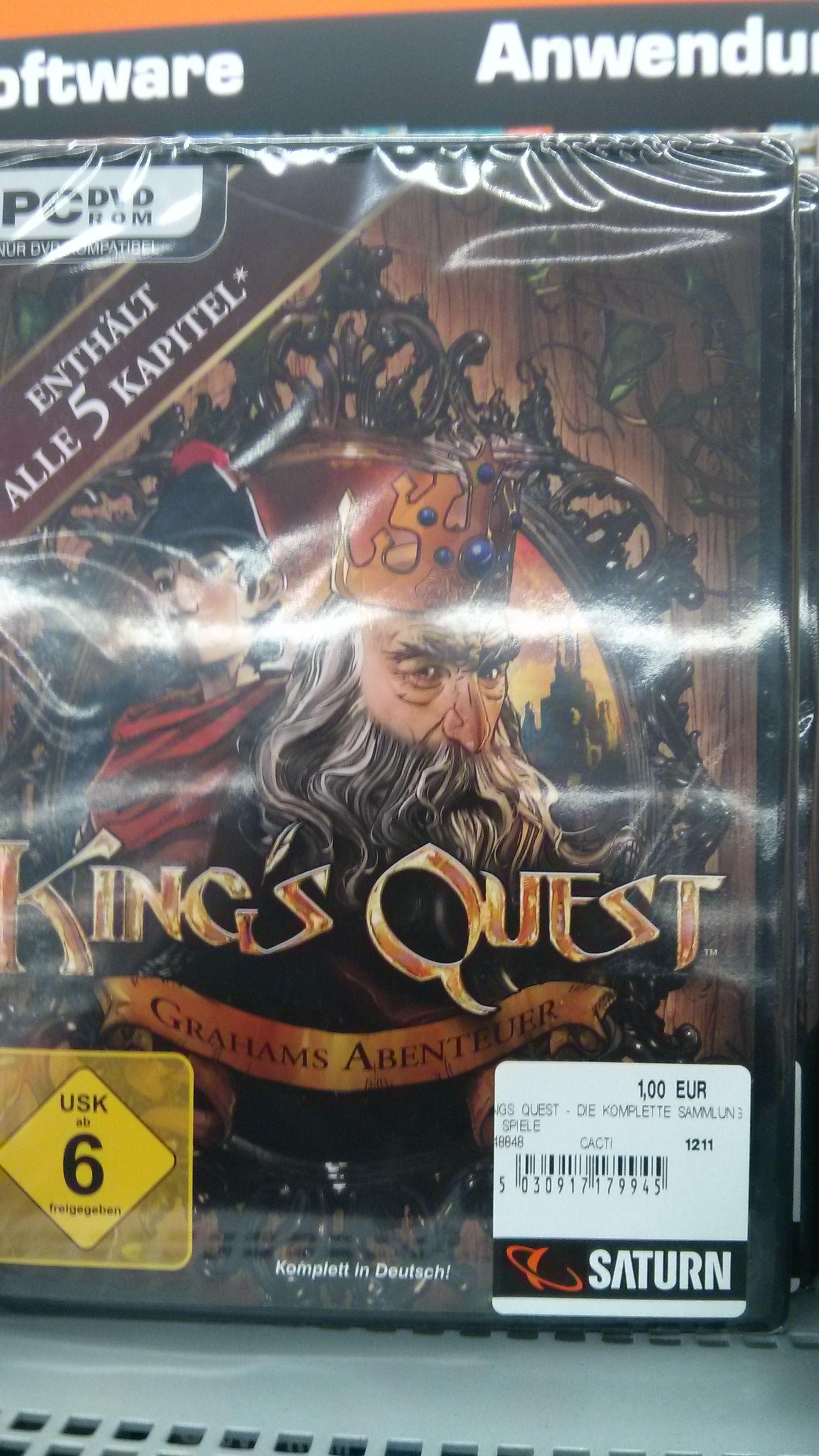 [Lokal Saturn Bremerhaven] King's Quest: Die Komplette Sammlung (PC)