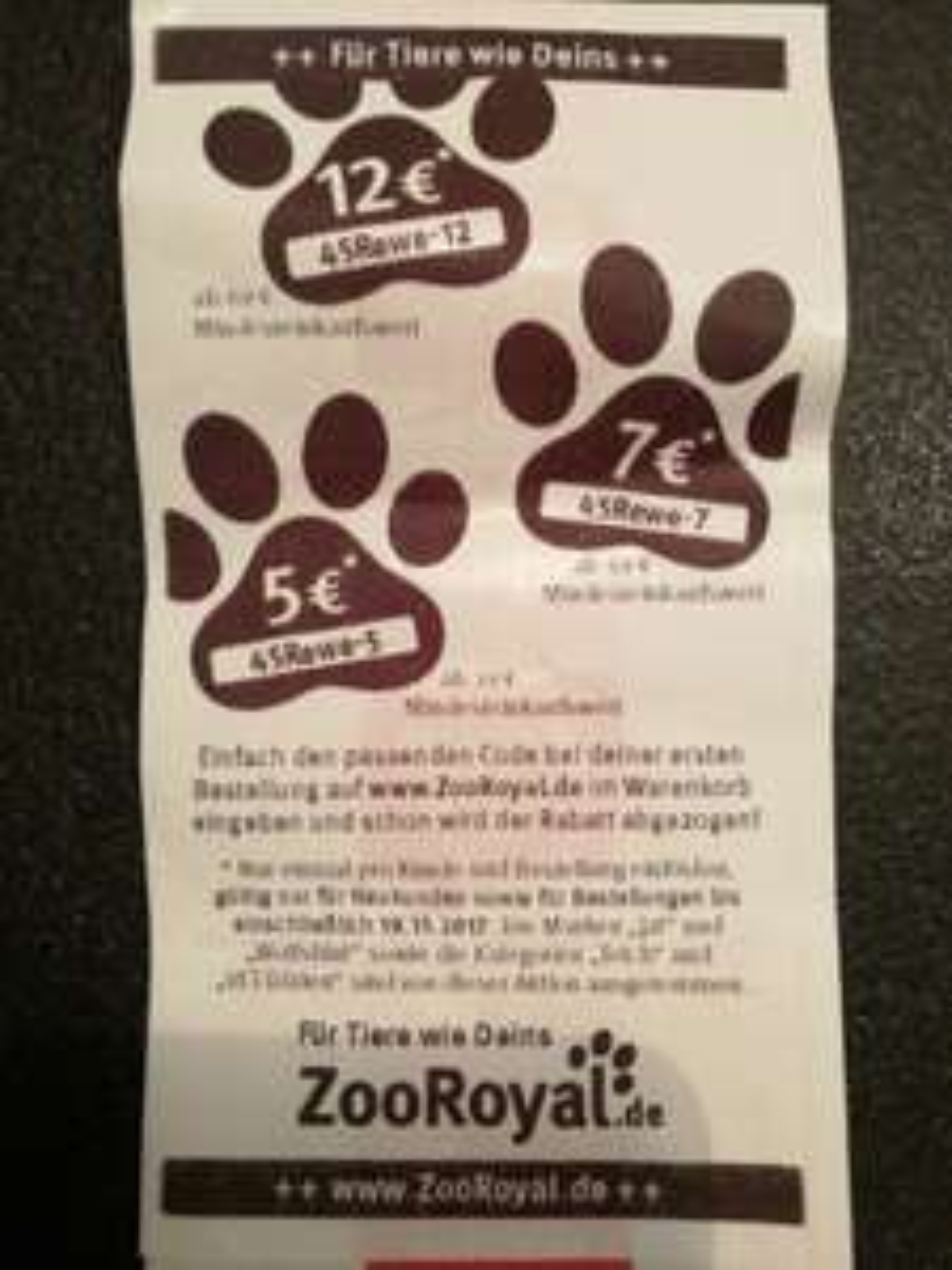 3 Zooroyal Gutscheincodes NEUKUNDEN