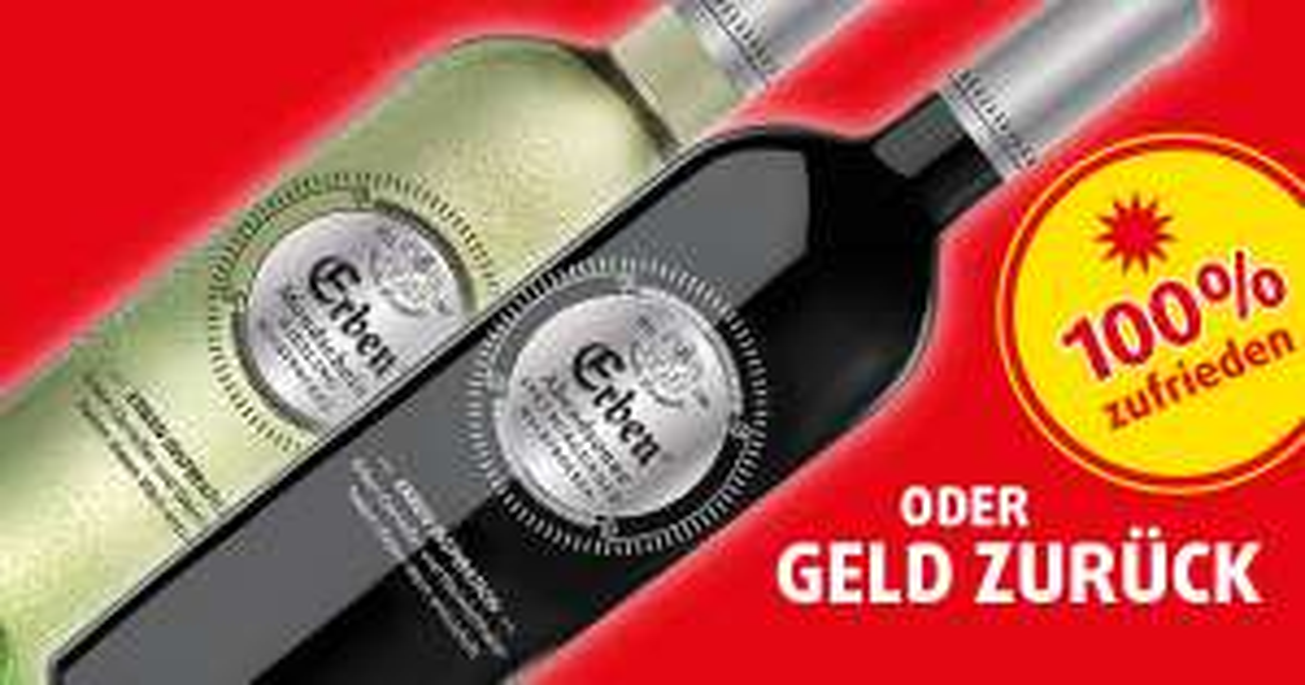Gratis Testen - Erben Wein - GZG - Cashback