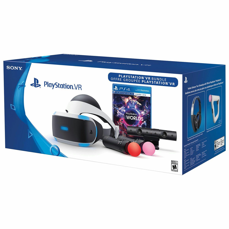 PS VR Bundle (VR Brille + Kamera + 2 Move Controller + VR Worlds) für 377€ @Real (mit Newsletter GS und Payback noch mal mindestens 7 Euro weniger)
