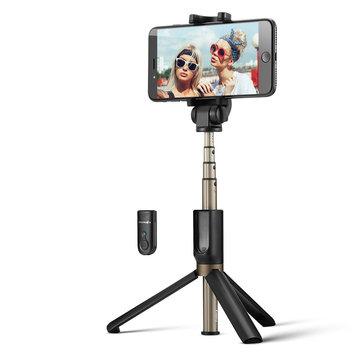 BlitzWolf Selfie-Stick & Tripod mit Bluetooth-Fernbedienung