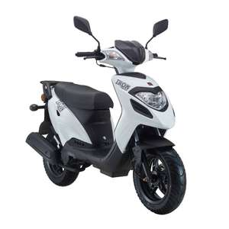 A.T.U  Explorer Iron 50 Motorroller 2016 weiß, 45 km/h nur Heute 799 Euro statt 1099