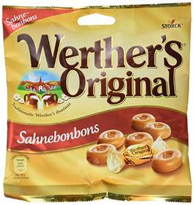 [Amazon] Werther's Original Bonbons, (5 x 120 g) 5er Pack ( Plus Produkt/ SparAbo )