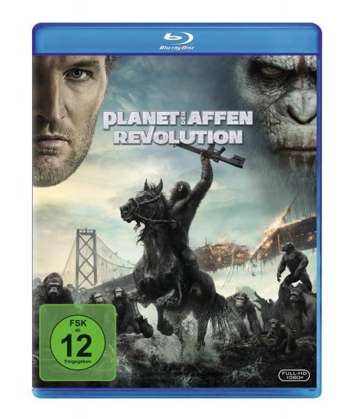 Für alle Sky Kunden: Planet der Affen Revolution Blu-ray oder DVD KOSTENLOS ab 13.11.