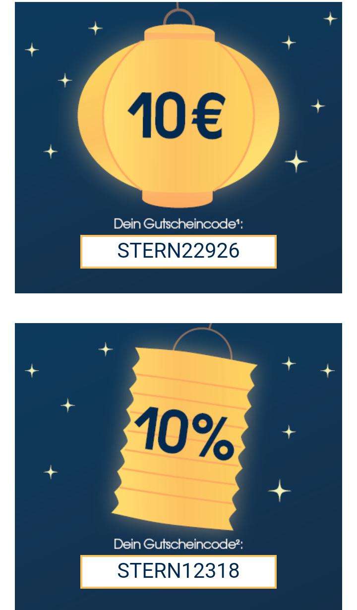 Babymarkt - St. Martin Aktion mit 10€ oder 10%-Gutschrift