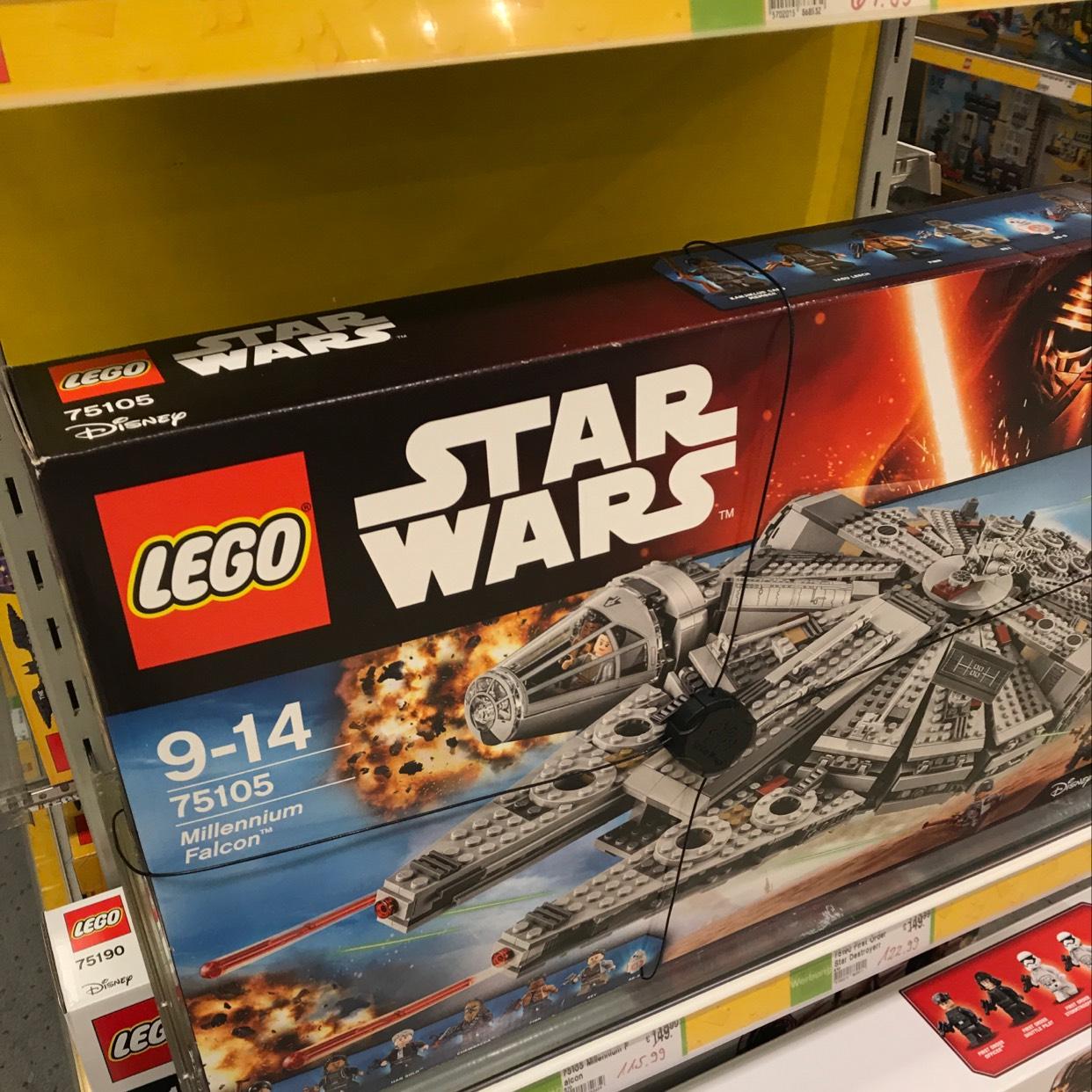 [Kaufhof offline] Lego Millennium Falcon 75105 für rechnerisch 95.99€ dank 20 Euro Aktion
