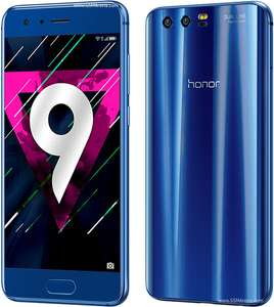 Honor 9 Smartphone (13,08 cm (5,15 Zoll) Full HD Display , 4 GB Ram, 64 GB Speicher, Android 7.0 > 8.0) blau und schwarz inkl. Vsk für 309,92 € > [amazon.it]