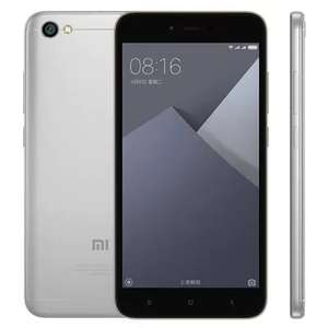 "Xiaomi Redmi Note 5A 5,5"" Global Version - GRAY inkl. Band 20 2GB 16 GB"