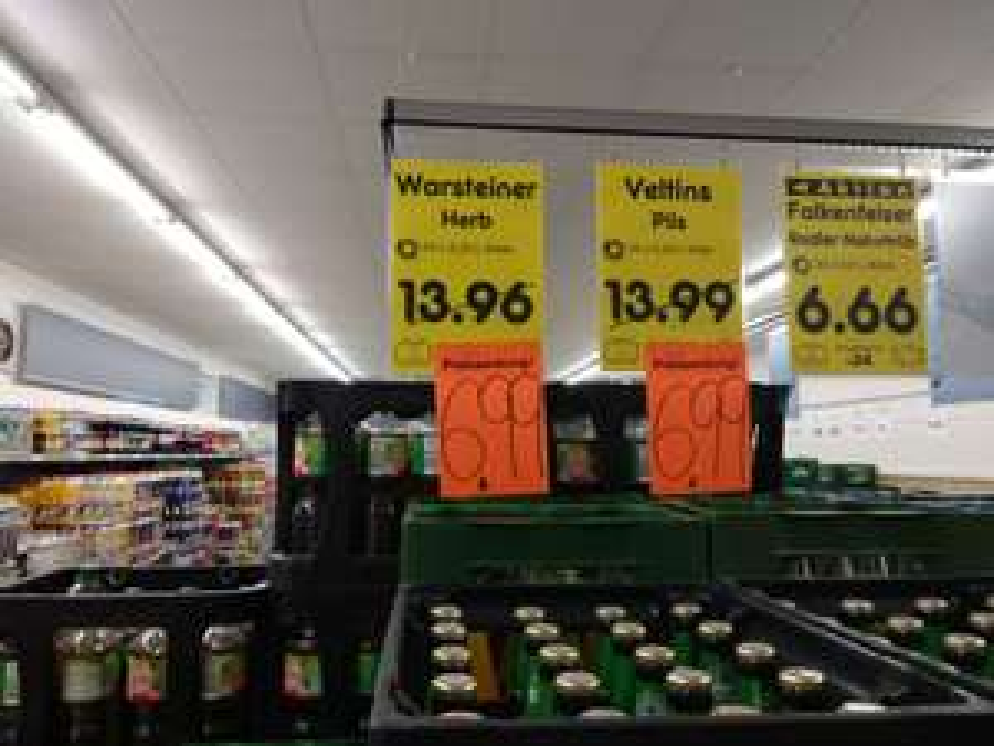 24x0,33l Kiste Veltins oder Warsteiner Herb 6,99€ zzg Pfand Netto MHD 12/2017 38110 Braunschweig