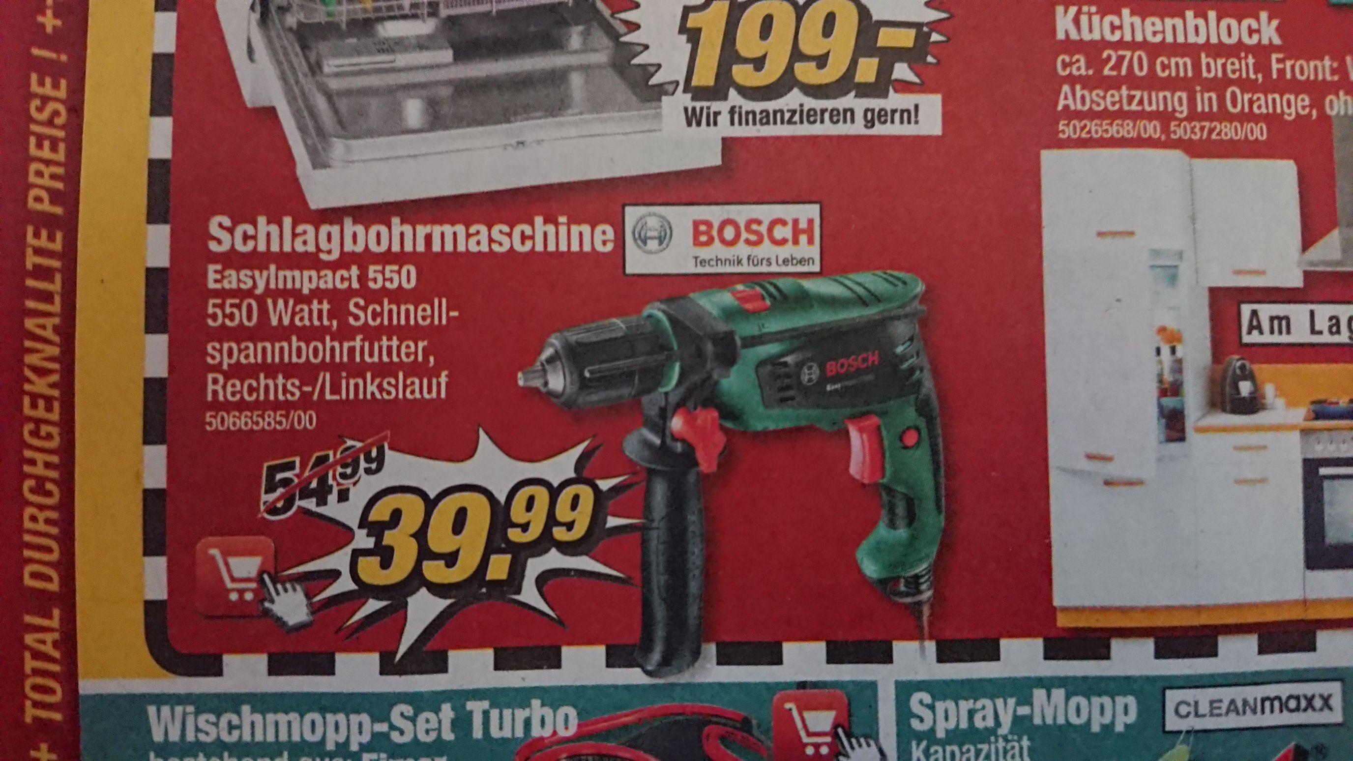 Bosch EasyImpact 550 Schlagbohrmaschine a. 16. u 17.11. [POCO]
