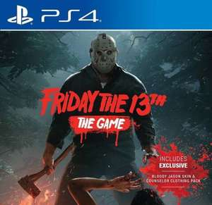 Friday the 13th - The Game PS4 für 30,09 (Amazon UK)