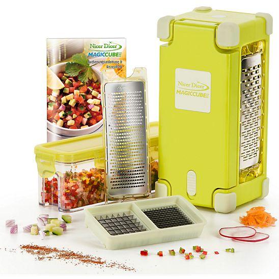 Genius Nicer Dicer Magic Cube Gourmet 9 tlg.