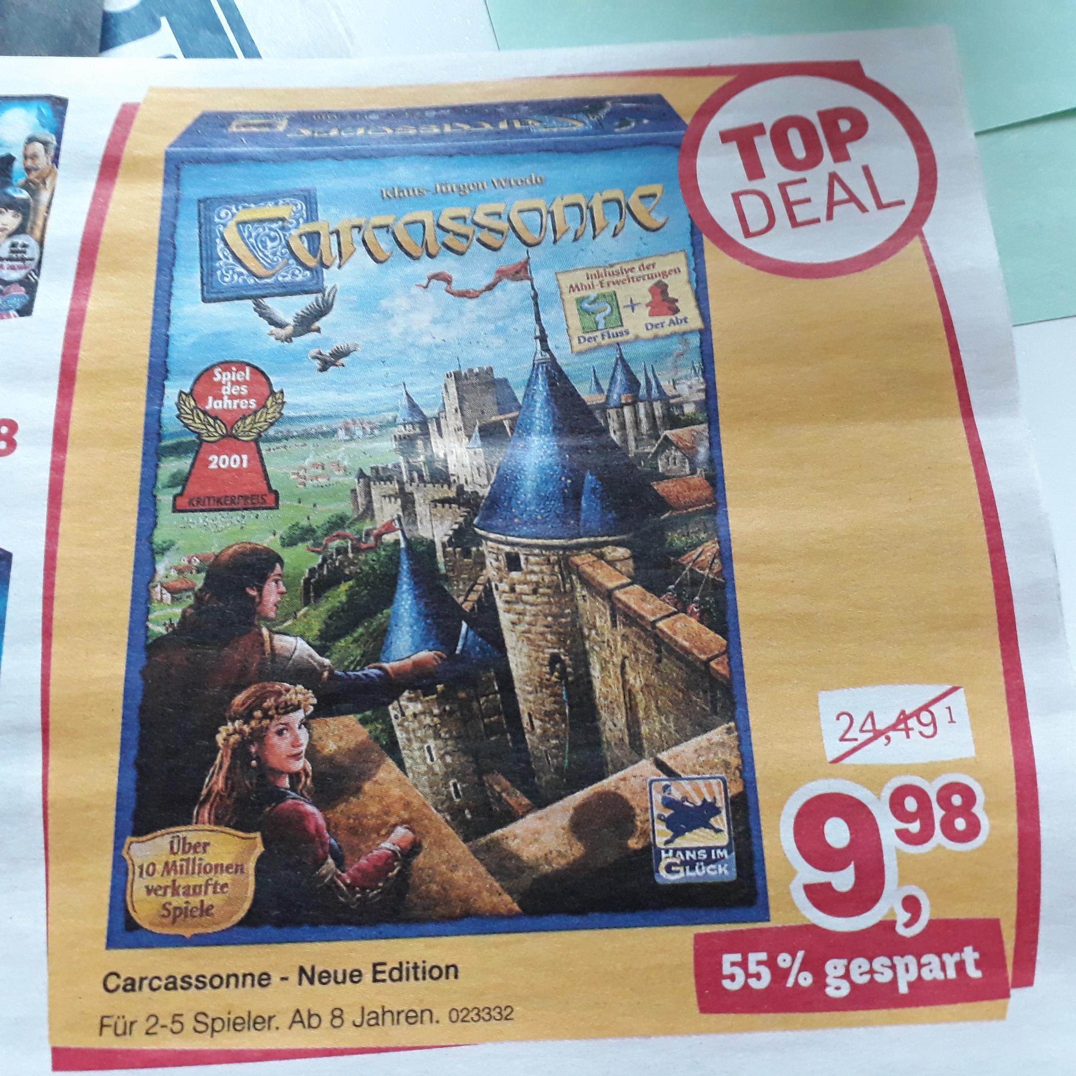 Carcassonne Neue Edition bei Toysrus
