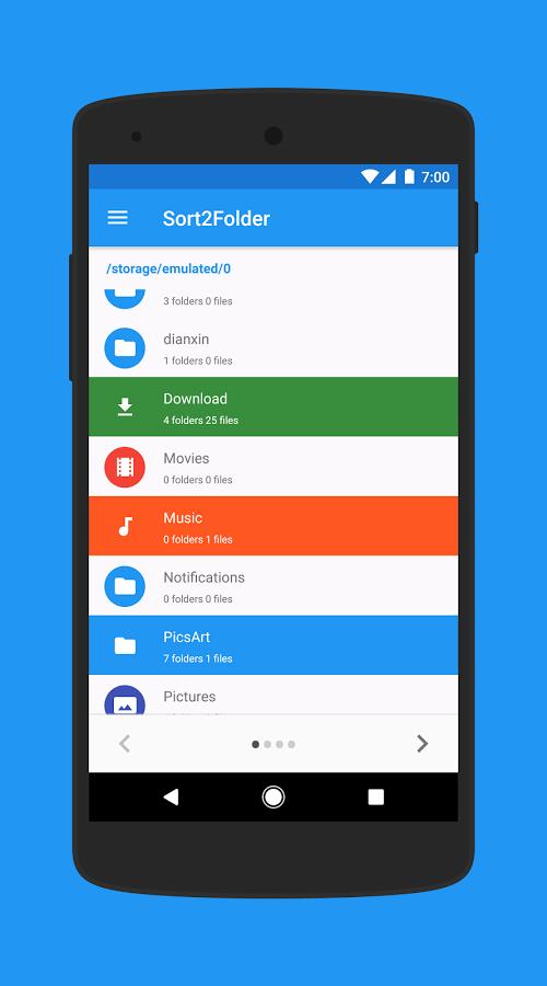 [Android] Sort2Folder kostenlos statt 0,59€