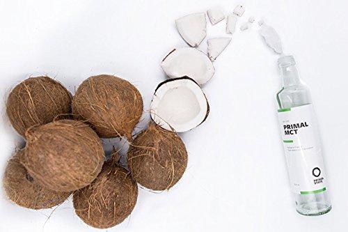 PRIMAL MCT Öl in Glasflasche | Extrakt aus Kokosöl Fitness LowCarb