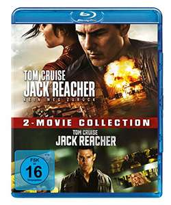 Jack Reacher / Jack Reacher: Kein Weg zurück 2-Movie Collection (Blu-ray) für 9,97€ (Amazon Prime + Dodax)