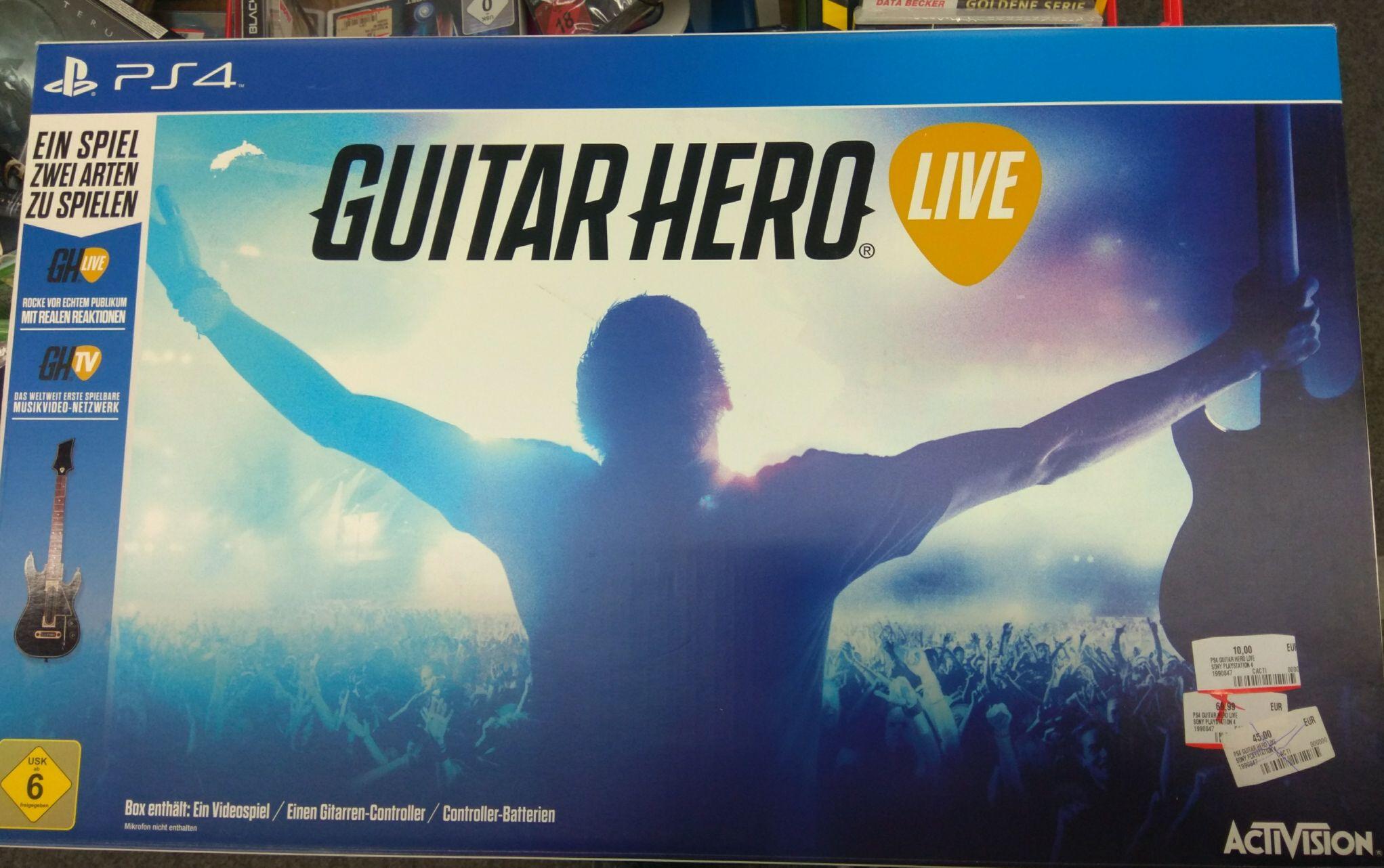 [Mediamarkt][Siegen] Guitar Hero Live PS4 für 10€ (begrenzte Stückzahl)